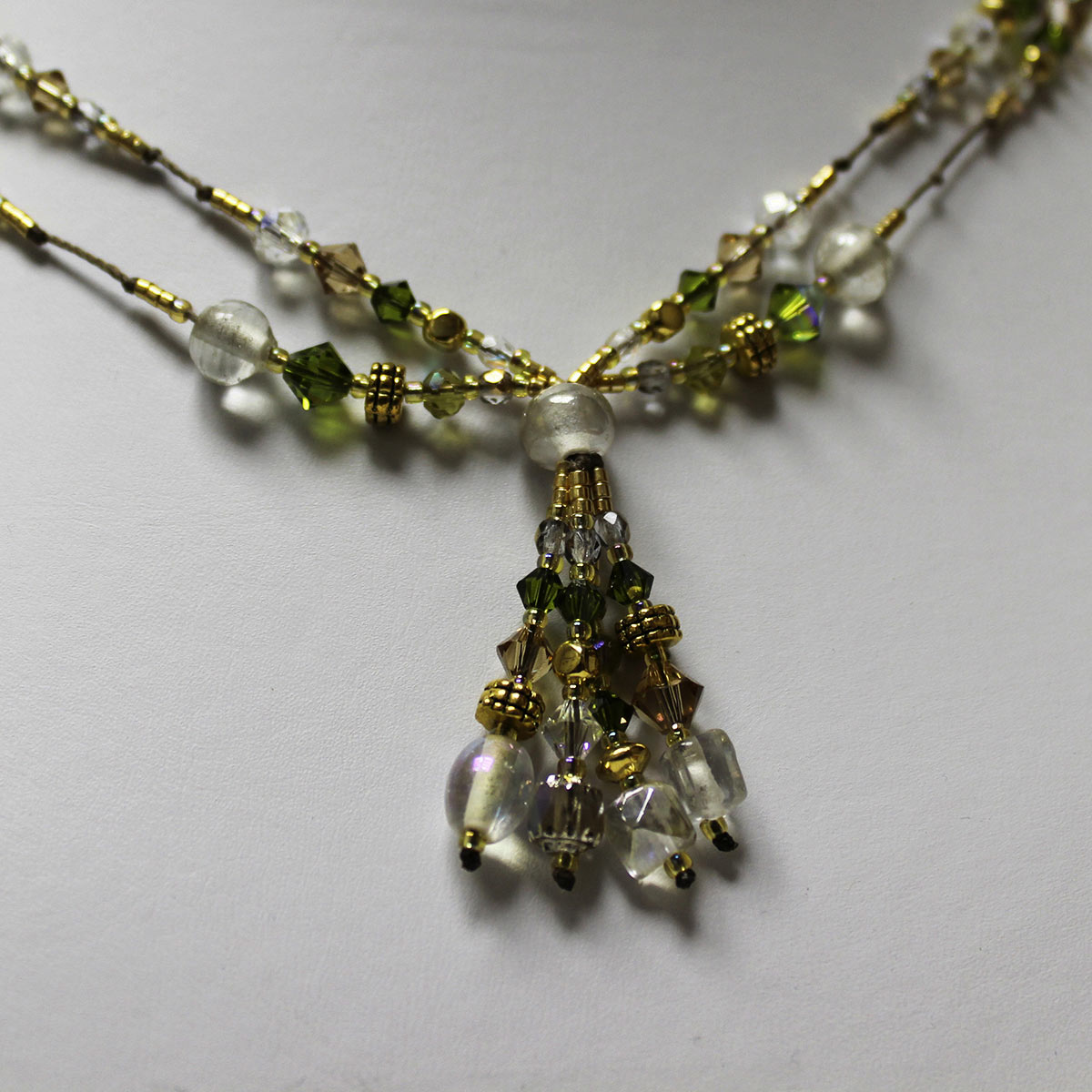 Vintage-Inspired Double Strand Necklace